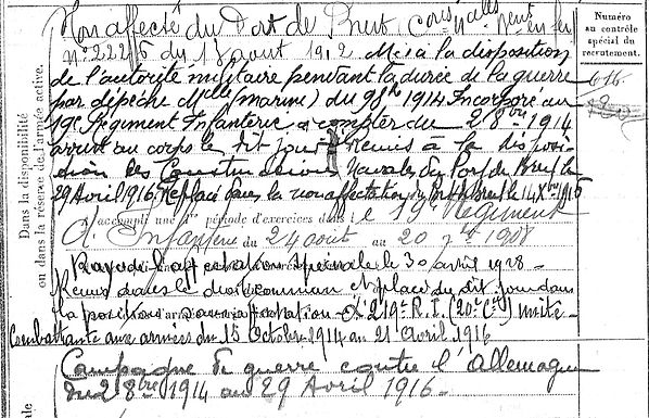 Omnès Louis Lampaul ploudalmezeau patrick milan anne apprioual guerre 1914 1917 14 18 patrimoine histoire plouguin finistere saint pabu