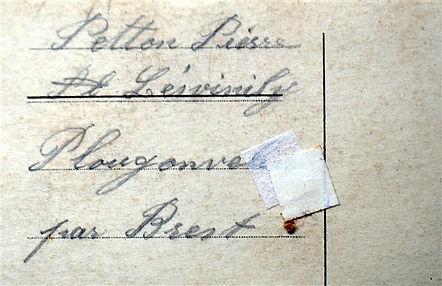 Petton Pierre Plougonvelin Treouergat plouguin patrimoine histoire guerre 1914 1918 paris patrick milan