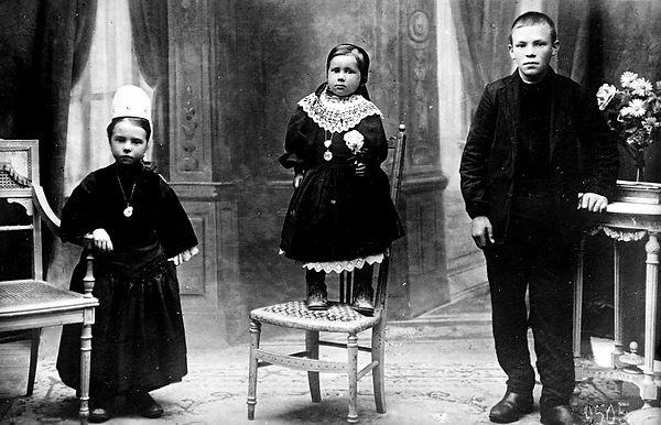 jeanne le bras plogastel saint germain Adopte orphelin finistere guerre 14 18 1914 1918 américain