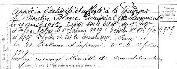 Cadalen Yves Marie patrick milan treouergat plouguin 1914 1918 lannuzel
