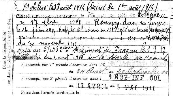 queneherve jean marie rosporden vanves 14-18 Finistère Non Mort France Réformé maladie tuberculose suicide fusillé accident