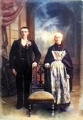 Victorine Le Bris lannuzel Cadalen Yves Marie patrick milan treouergat plouguin 1914 1918 lannuzel