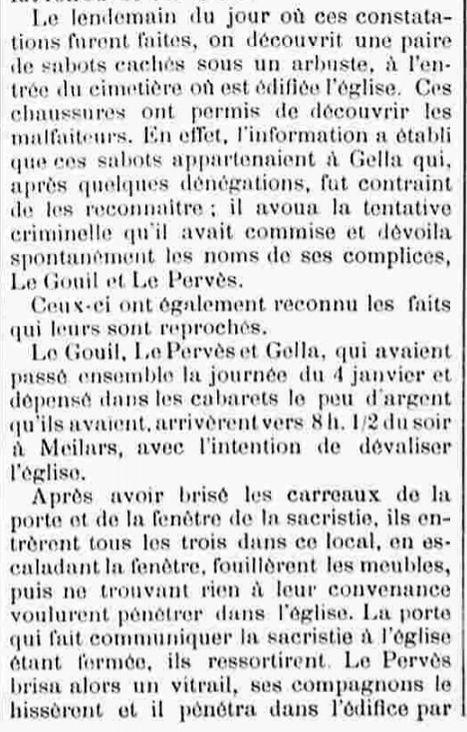 Le Pervez Paul François Marie pont croix picard bagne guyane bagnardg