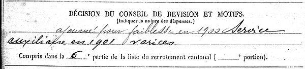 hicher jea marie dineault quimper 14-18 Finistère Non Mort France Réformé maladie tuberculose suicide fusillé accident