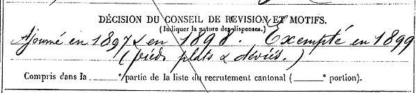 leon pierre marie sizun crecy au mont aisne 14-18 Finistère Non Mort France Réformé maladie tuberculose suicide fusillé accident