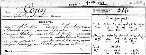 copy sebastien verdun chemin dames craonne Lampaul ploudalmezeau patrick milan anne appriou guerre 1914 1917 14 18 patrimoine histoire plouguin