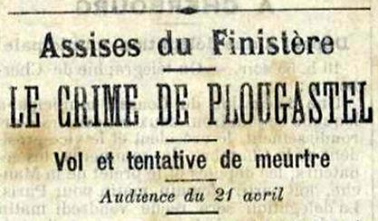 Le crime de Plougastel Daoulas Assises.j