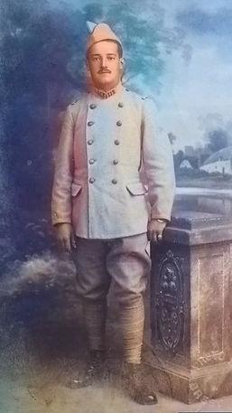 Kermarrec Jean cabon patrick milan treouergat plouguin patrimoine guerre 1914 14 18