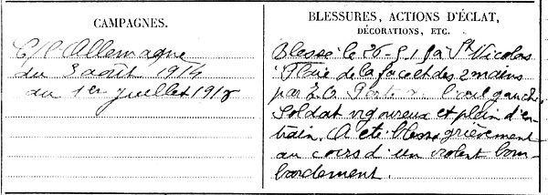 queau françois louis marie plouvorn saint martin des champs morlaix 14-18 Finistère Non Mort France Réformé maladie tuberculose suicide fusillé accident