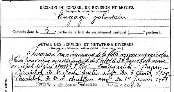 moufort monfort yves mespaul amazone 14-18 Finistère Non Mort France Réformé maladie tuberculose suicide fusillé accident
