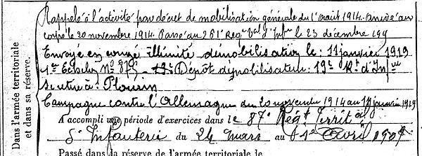 Copy Jean Marie Lampaul ploudalmezeau patrick milan anne apprioual guerre 1914 1917 14 18 patrimoine histoire plouguin finistere saint pabu