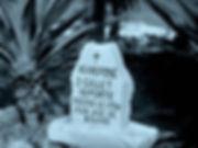 Headstone for deceased Deportee on Devil