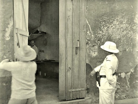 Opening solitary cell for inspection on