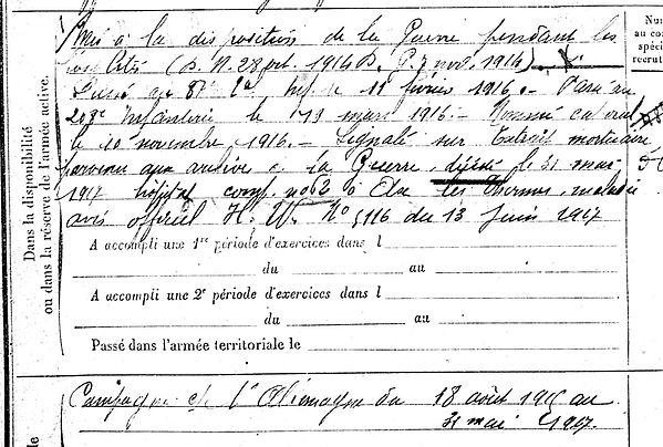 quentel françois pierre marie melgven ax thermes moulin blanc poudrerie 14-18 Finistère Non Mort France Réformé maladie tuberculose suicide fusillé accident