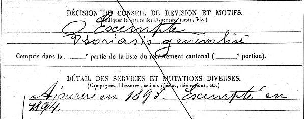le dreves rene aerostation nimes angers 14-18 Finistère Non Mort France Réformé maladie tuberculose suicide fusillé accident