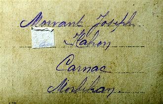 Morvant Joseph Carnac Treouergat plouguin patrimoine histoire guerre 1914 1918 paris patrick milan