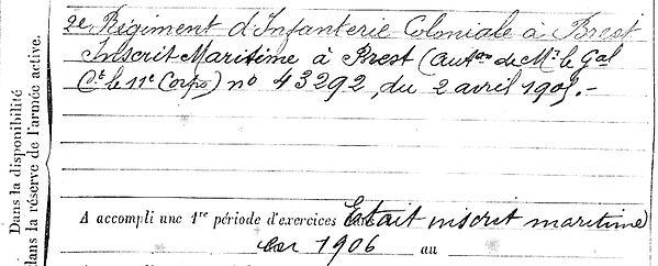 roudaut auguste marie plouguerneau 14-18 Finistère Non Mort France Réformé maladie tuberculose suicide fusillé accident