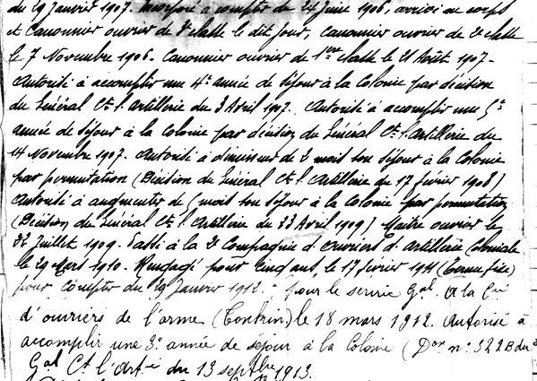 mourrain pierre jean legion etrangere hanoi loctudy tonkin 14-18 Finistère Non Mort France Réformé maladie tuberculose suicide fusillé accident