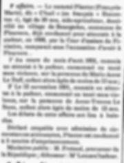 Plantec François Marie plouvorn plouzevede finistere bagne guyane bagnard viol