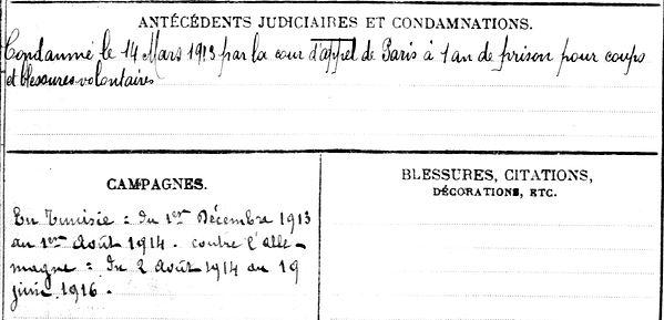 jodelis emile desire brest afrique baccarat deserteur 14-18 Finistère Non Mort France Réformé maladie tuberculose suicide fusillé accident