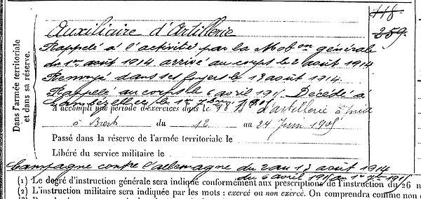quere jean rene plougonvelin brest lambezellec 14-18 Finistère Non Mort France Réformé maladie tuberculose suicide fusillé accident