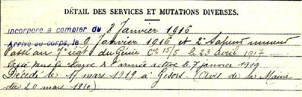 guenrd victor frumence plouhinec gisor 14-18 Finistère Non Mort France Réformé maladie tuberculose suicide fusillé accident