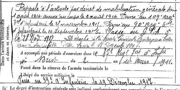 pedel yves marie dirinon amfreville sous les mnts ecluses 14-18 Finistère Non Mort France Réformé maladie tuberculose suicide fusillé accident