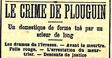 crime plouguin finistere assassinat violence