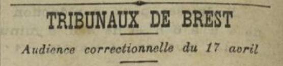 Baron Guillaume Marie sizun brest nicolas bagne guyane bagnard finistere