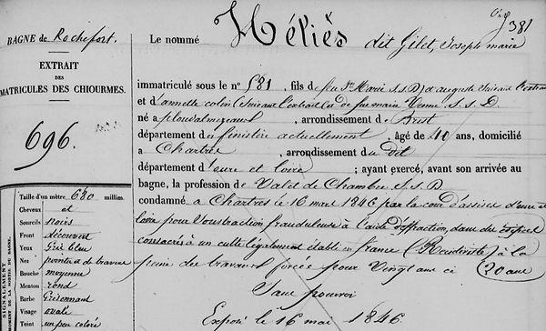 Héliès Joseph Marie ploudalmezeau