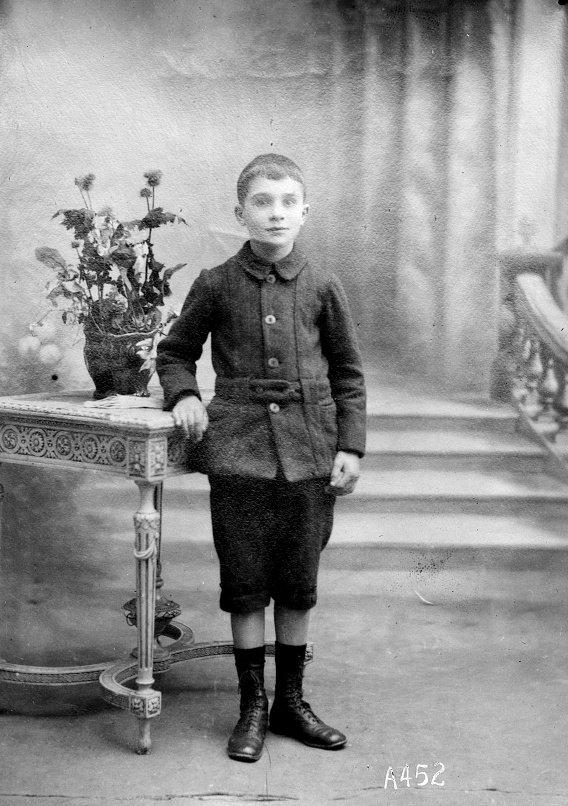 rene le bleis pont abbé Adopte orphelin finistere guerre 14 18 1914 1918 américain