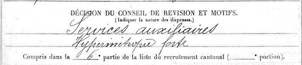 ledey le dez henri hanvec brest 14-18 Finistère Non Mort France Réformé maladie tuberculose suicide fusillé accident