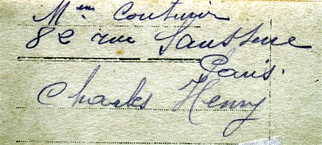 Couturier Charles Henry Treouergat plouguin patrimoine histoire guerre 1914 1918 paris patrick milan
