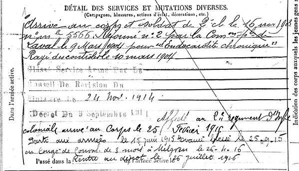 le baccon alain andre melgven 14-18 Finistère Non Mort France Réformé maladie tuberculose suicide fusillé accident