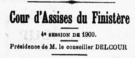 Le Cann Léon plogoff henry brest bgne guyane bagnard finistere