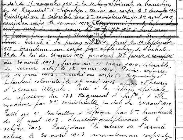 morvan adolphe jean marie brest prison afrique fontevrault bossuet mascara 14-18 Finistère Non Mort France Réformé maladie tuberculose suicide fusillé accident