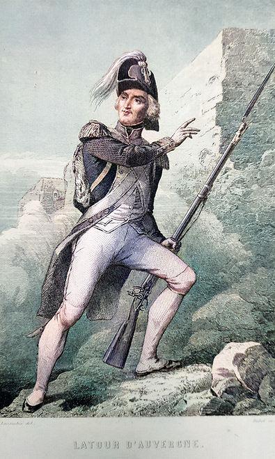 THEOPHILE-TOUR-AUVERGNE-Portrait-GRAVURE