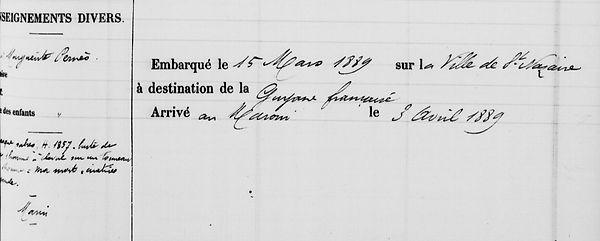 Douarnenez Ascoët Auguste bagnard évadé bagne guyane cayene