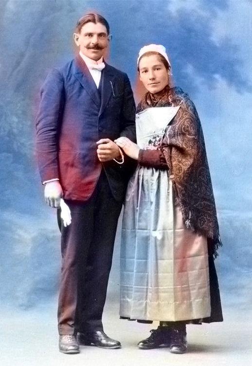 Poullaouec Yves Marie Laurent simier madeleine patrick milan treouergat patrimoine histoire guerre 1914 14 18