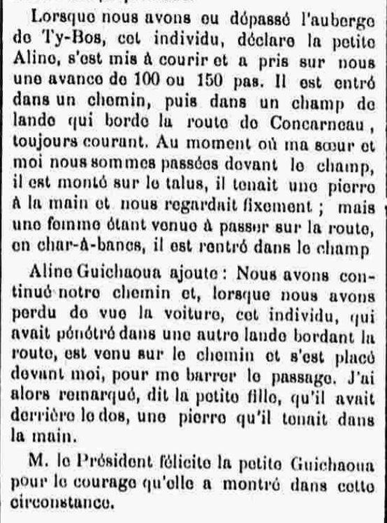 Glérant François Marie cuzon ergue armel bagne guyane bagnerd finistere