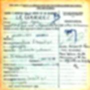 le garrec julien marie clohars carnoet quimperle 14-18 Finistère Non Mort France Réformé maladie tuberculose suicide fusillé accident