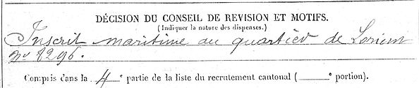 tanguy françois marie clohars carnoet lyon 14-18 Finistère Non Mort France Réformé maladie tuberculose suicide fusillé accident