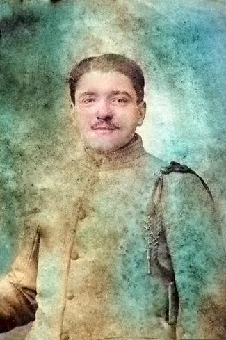 Pochard François Marie patrick milan plouguin treouergat colin calvarin 1914 1918