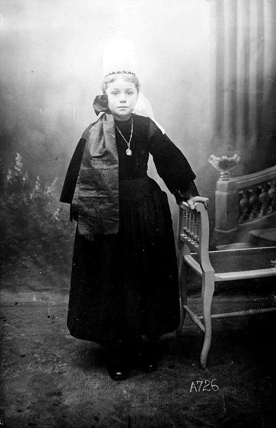 nicole le berre pont abbé plomodiern Adopte orphelin finistere guerre 14 18 1914 1918 américain