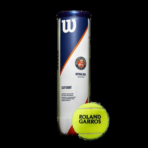 Roland Garros Clay Court 4pk Balls