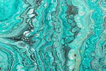 Turquoise Marble Pattern