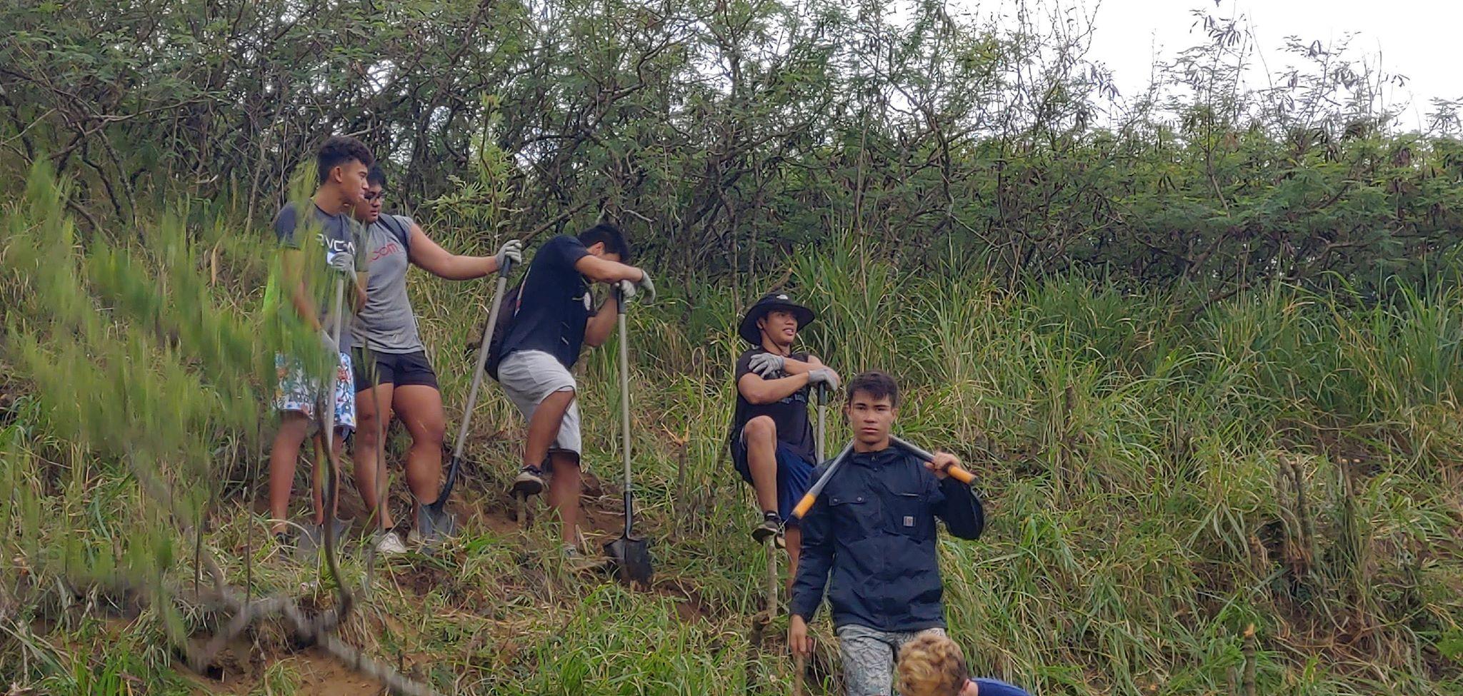 The Senior Class at Kawai Nui Marsh 11