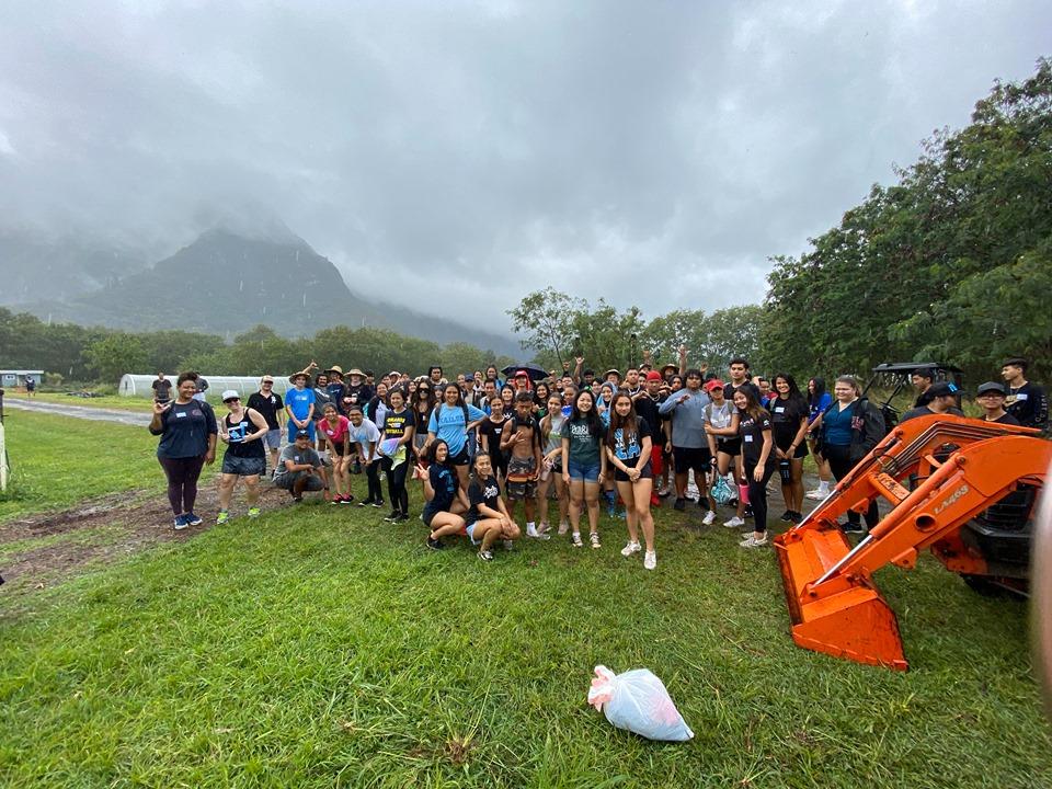 Sophomore Class in Waimanalo 15