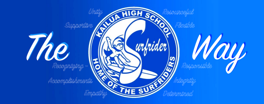 Kailua High School - The Surfrider Way
