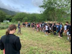 Sophomore Class in Waimanalo 11